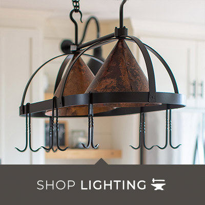 Hand-Forged Lighting