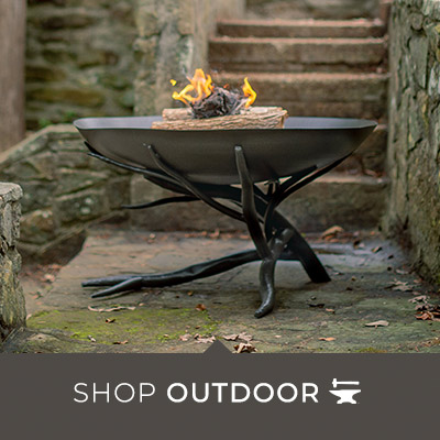 Hand-Forged Outdoor Living